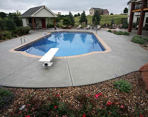 Pool Decks Concrete Countertops
